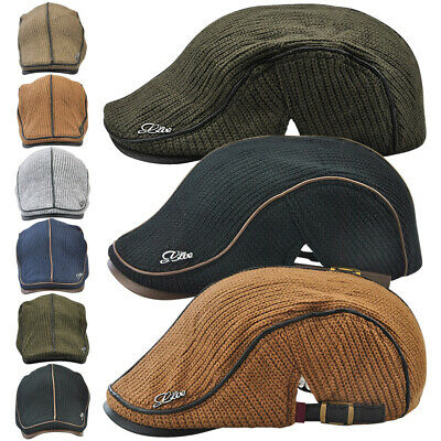 Casual Style Outdoor Caps Winter Keep Warm Baseball Cap For Men Male Grandfather