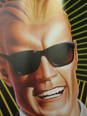 Max Headroom Coca Cola Coke Vintage TV Tie-In Book Covering Poster 1986