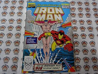 Iron Man (1968) Marvel - Annual #10, Two if by Sea, Michelinie/Smith, VF