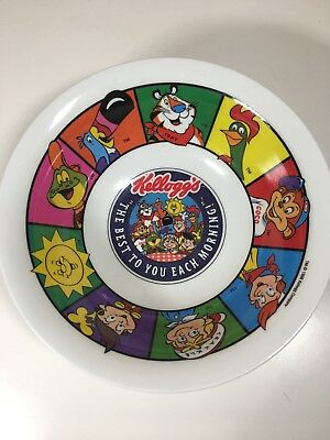 Kelloggs The Best To You Each Morning Plastic Cereal Bowl 1996