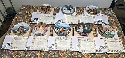 Set of 8 Sound Of  Music Collector Plates