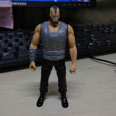 "4"" Batman Dark Knight Rise Action Figure Bane Silver Vest Figure Collection Toy"