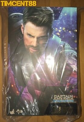 Ready! Hot Toys MMS481 Avengers Infinity War Captain America Movie Promo Edition