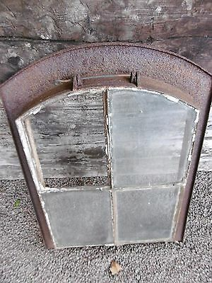Cast Iron Roof Window um 1920-Rundbogen Window