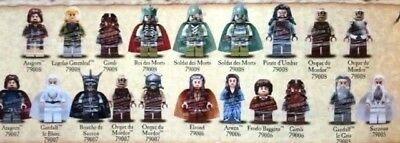 """Lego Lord Of The Rings / Hobbit """"Choose Your Minifigures"""" New Free Post"""