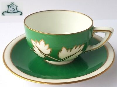 Collector's Place Setting Cup + Saucer of Brothers Schoenau Swaine & Co. um 1925