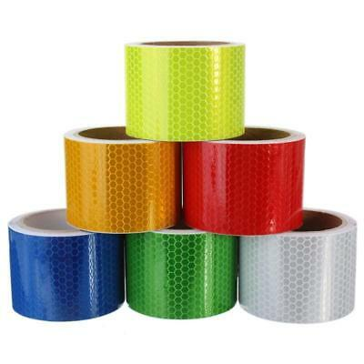 3M * 50MM High Intensity Night Safety Reflective Conspicuity Tape Self Adhesive