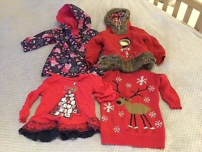Baby Girl 12-24 Month Winter Christmas Cosy Bundle