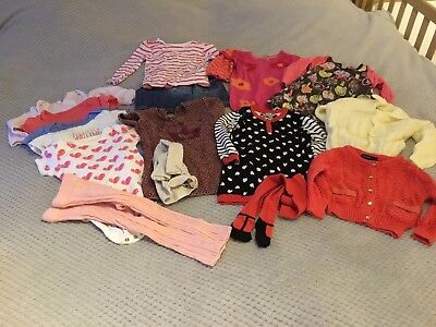 Baby Girls 12-18 Month Large Clothing Bundle Next Verbaudet TU