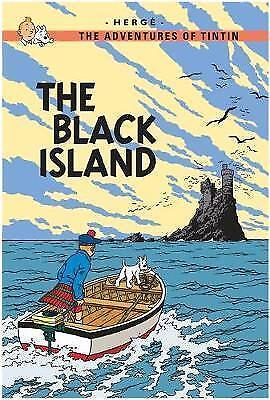 Adventures of Tintin The Black Island by Herge (Hardback, 2003)