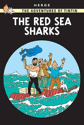 Adventures of Tintin The Red Sea Sharks by Herge (Hardback, 2003)
