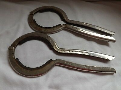 TWO Vintage The Gunnard Co. Canning Jar Gripper Opener