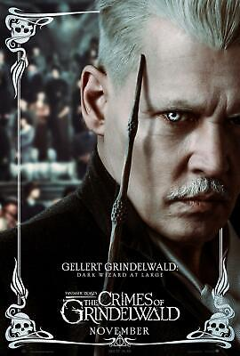 Animali Fantastici I Crimini Di Grindelwald Harry Potter Cinema Stampa Poster #2