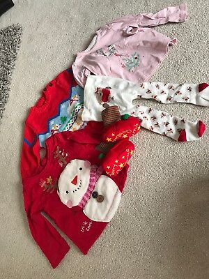 Girls 3-6 Month Christmas Bundle