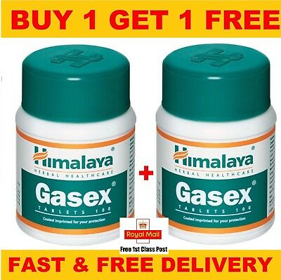 Gasex Himalaya Himalaya Herbal Gasex Improves digestion Relieves -100 Tablets