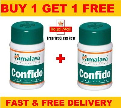 Himalaya Herbal | Confido | Himalaya Herbal Confido | Free Post- 60 Tablets