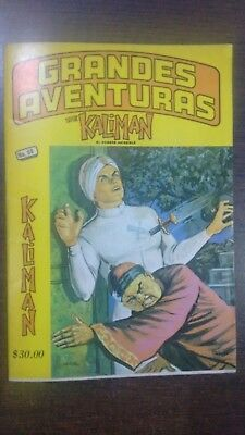 Kaliman Free Shipment Comic In Spanish Vintage  , Very Hard To Find , Num 68