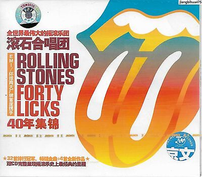 The Rolling Stones Forty Licks China 2CD w/slipcase Sealed