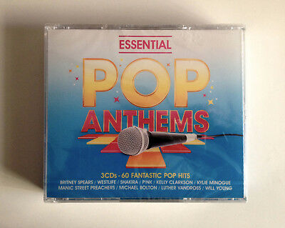 3CD Box Set ( Sony Music)  Essential Pop Anthems: 60 Pop Hits   New & Sealed