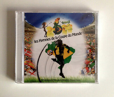 CD Hymnes de la Coupe du Monde Harmonia Mundi  BRAZILIAN BRASS BAND New & Sealed
