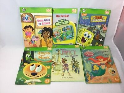 Lot of 6 Leap Frog Tag Reader Books