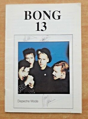"DEPECHE MODE ""BONG 13"" (""The Depeche Mode Fan Club Magazine"") 1991"
