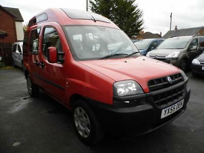 Fiat Doblo diesel High Roof wav wheelchair access accessible disabled vehicle