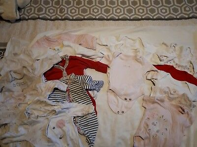 premature baby clothes bundle - 5lbs