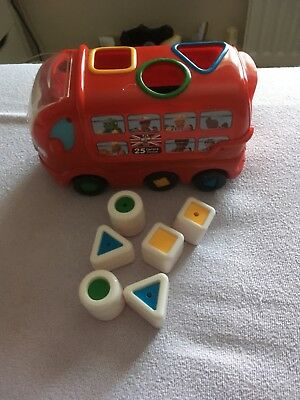 Wow Bus Shape Sorter And Other Baby/toddler Toys