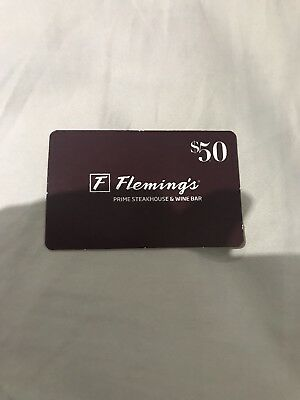Fleming's Prime Steakhouse And Wine Bar Discount Gift Card $50 Off $150 Purchase