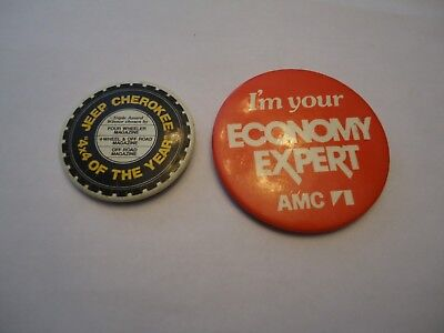 Americam Motors Corporation ,AMC pin - Jeep Cherokee 4x4 of the year pin
