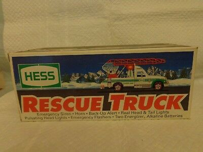 Hess Rescue Truck 1994 MIP
