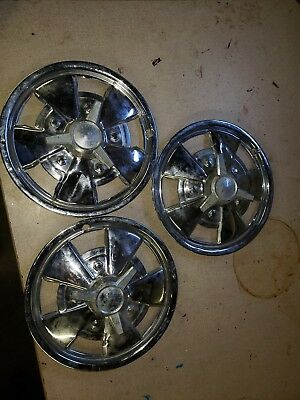 3  SPINNER HUBCAPS  Dodge Ford Chevy Pontiac