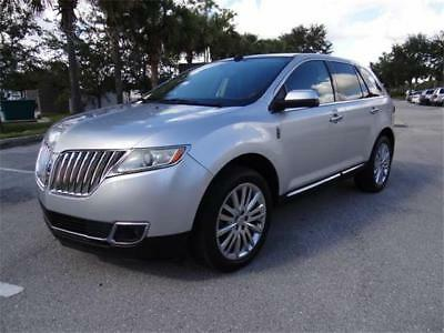 2011 Lincoln MKX Premium 2011 Lincoln MKX Nav Panorama Roof Florida Clear Title No Accident Great Shape