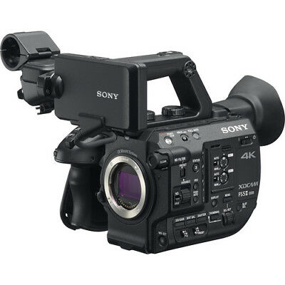 BRAND NEW Sony PXW-FS5M2 4K XDCAM Super 35mm Compact Camcorder Official Dealer