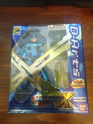 D-Arts Megaman Mega Man X Chrome SDCC 2011 MISB Bandai Tamashii Nations Figuarts