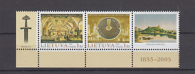 Lithuania 2005 National Museum Complete Set Mint Never Hinged