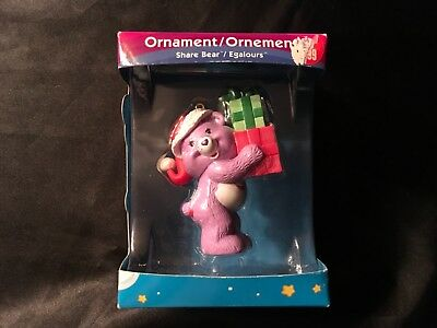 Care Bears Share Bear Christmas Ornament American Greetings 2006 Collectible New
