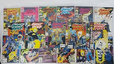 Marvel Comics Ghost Rider Lot 17x Books in Nice Condition