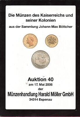 NUMISMATIC AUCTION CATALOG GERMAN May, 2006