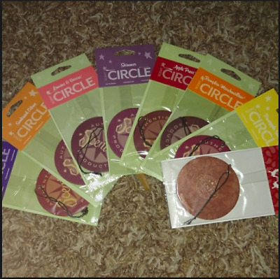 Scentsy scent circle circles car kitchen air fresheners NEW some retired rare