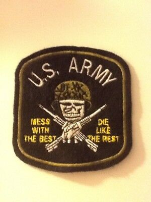 Patch Aufnäher America Amerika U.S. Army Green Beret Special Forces Airborne