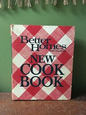 Vintage 1970 Better Homes And Gardens New Cookbook