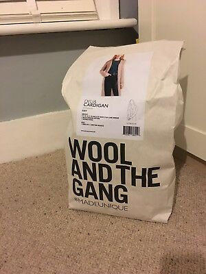 WATG Wool And The Gang Delia Cardigan RRP £110 Knitting Project.