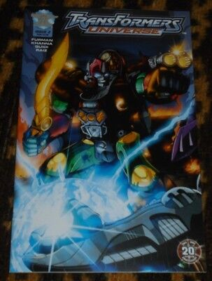 RARE TRANSFORMERS UNIVERSE #2 Fan Club Cover