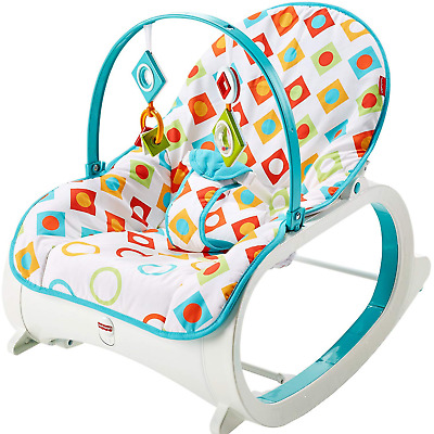 Infant Baby Bouncy Seat Chair Rocker Sleeper Swing Bouncer Vibrator Exercizer