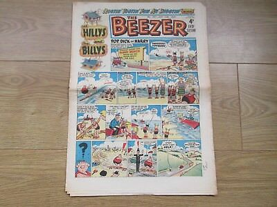 "THE BEEZER COMIC, No 287 - JULY 15th 1961  Good Condition""Rootin Tootin Fun"""
