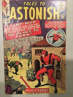 Tales To Astonish #54