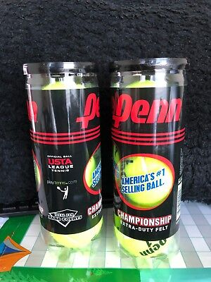 Penn Championship XD Tennis Balls (Single Can/3 Balls) Extra Duty Felt
