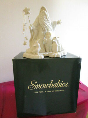Dept 56   Snowbabies   ''Jack Frost .....   A Touch Of Winter Magic''